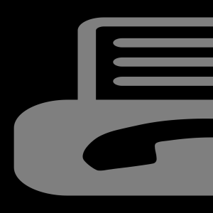 Fax and Scan Icon