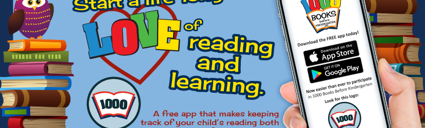 1000 Books Before Kindergarten app icon